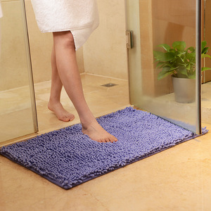 Image 3 - Large Size 60*90cm/70*140cm Cheap Thicken Chenille Bath Mat, Bathroom Rug Carpet for Living Room Floor Mat Tapete De Banheiro