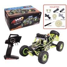 D'origine WL Toys 12428 RC Voiture 1/12 Échelle 2.4G Électrique 4WD Escalade de voiture Télécommande De Voiture 50 KM/H Haute vitesse RC voiture