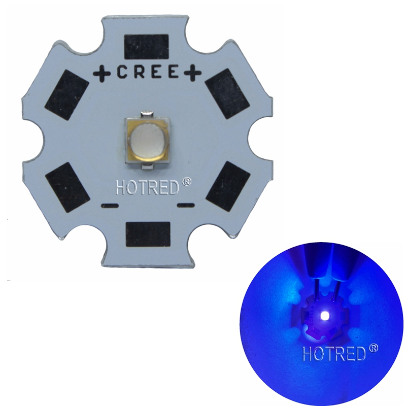 5W UV/Ultra Violet LG3535 LG 3535 High Power LED Emitter Diode 395nm 385nm 365nm For UV Curable Ink/Security Check