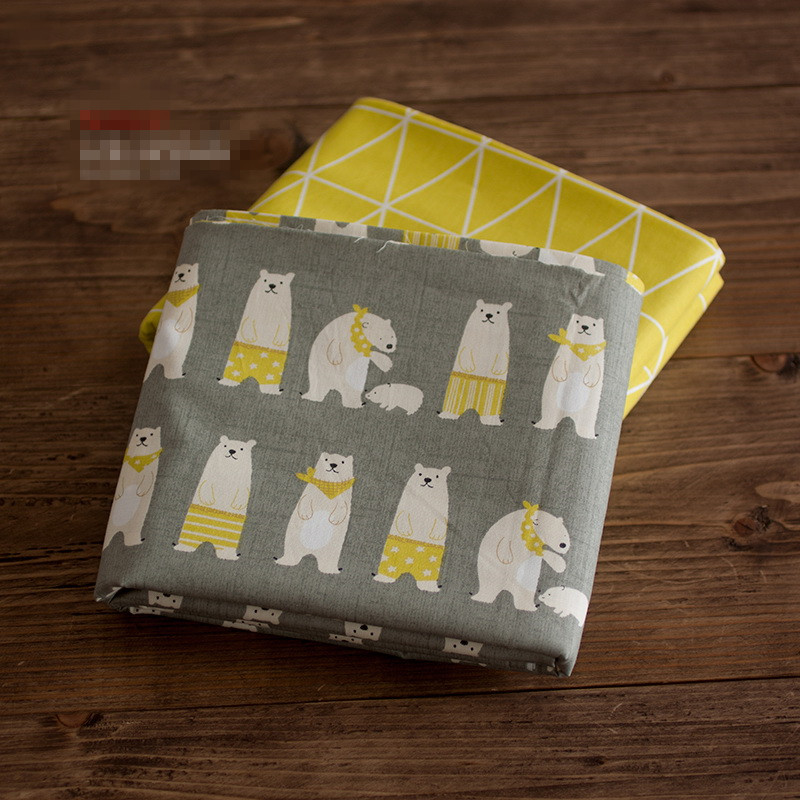 Buy 100x160cm printed cute grey polar for Grey childrens fabric