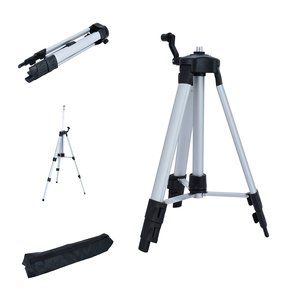 1pc 360 Degree Laser Level Tripod Professional Self leveling Cross Laser Level Tripod Mayitr Measurement Analysis Instruments