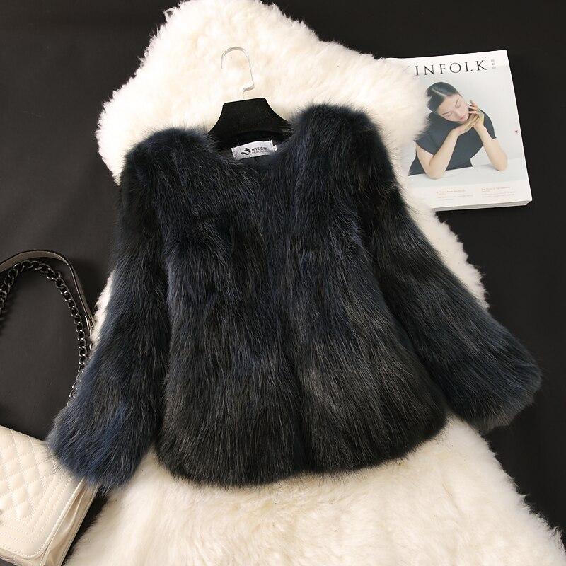 O Manteau Court See see Chart Femmes 2016 Manteaux Mode Vestes Cou Laveur Hiver Automne Chart Fourrure Nouvelle De Naturelle G170 Raton Et Manches Mince Chien Réel 3 4 pYvv7FnS