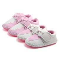 Baby Girls First Walkers Shoes Soft Sold Infant Toddler Anti Slip Spring Baby Shoes Spring