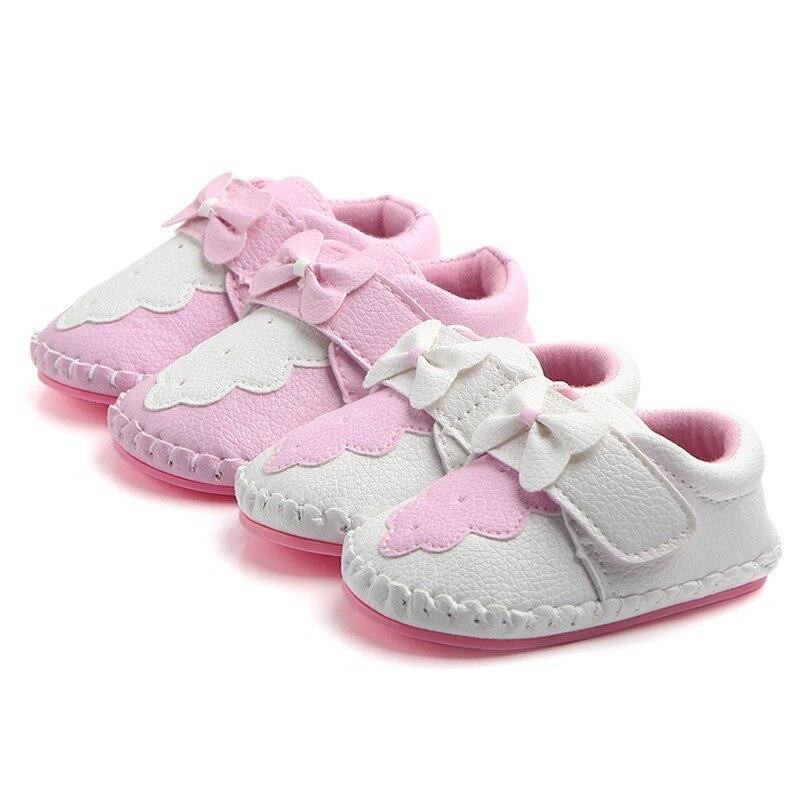Bébé filles premiers marcheurs chaussures doux vendu infantile enfant en bas âge anti-dérapant printemps bébé chaussures printemps
