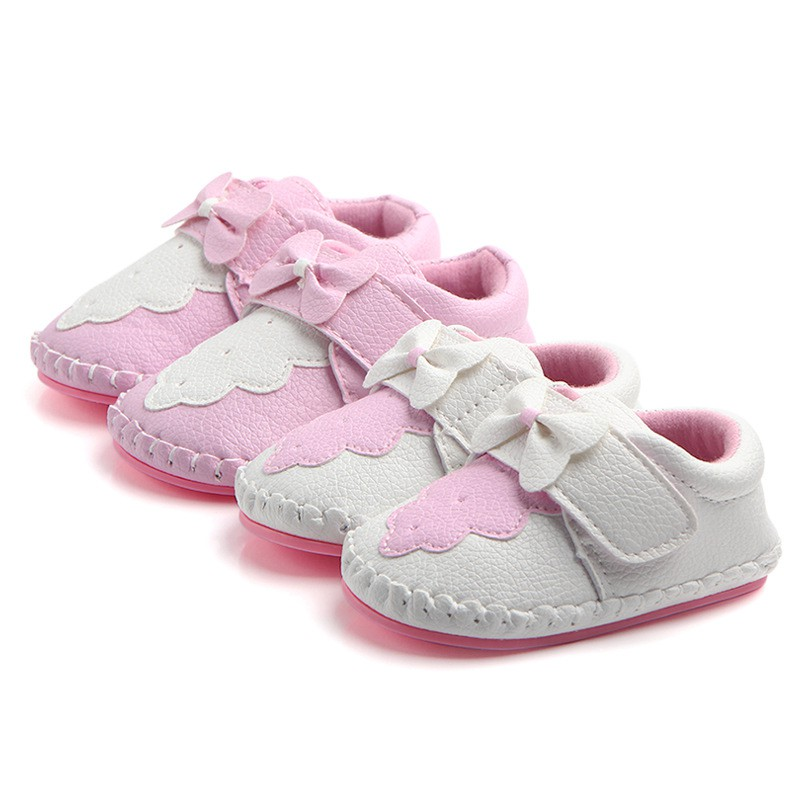 Baby Girls First Walkers Shoes Soft Sold Infant Toddler Anti-Slip Spring Baby Shoes Spring newborn canvas classic sports sneakers baby boys girls first walkers shoes infant toddler soft sole anti slip baby shoes