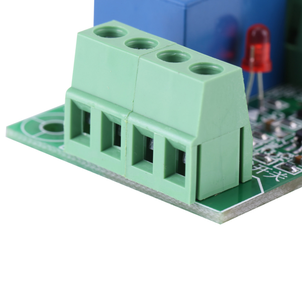 Vbestlife Dc 12v Single Channel Bistable Circuit Trigger Switch Relay Control Module Receiver In Relays From Home Improvement On