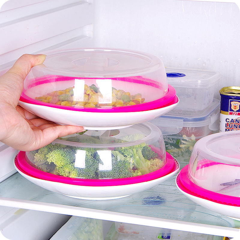 New Leakproof Silicone seal lid Closures Spill Stopper Cover for bowl pot dish kitchen accessories