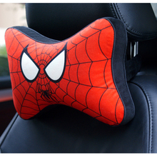Stylist Soft Cartoon Printed Car Seat Neck Pillow for Safety Driving