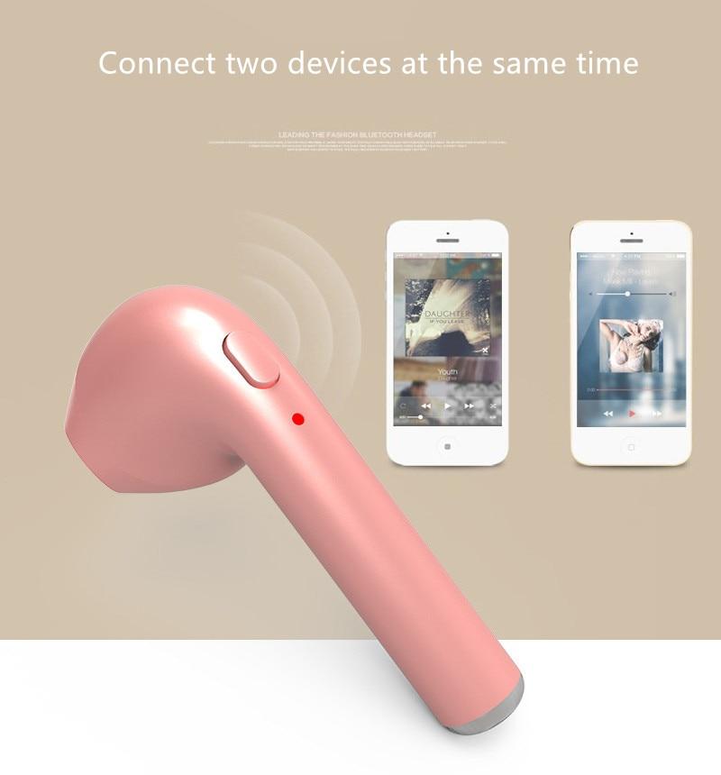 Büroelektronik Headsets Aufstrebend Top Qualität Mini Hbq I7 Bluetooth 4,1 Stereo Kopfhörer Drahtlose Hifi Ohrhörer Für Iphone Und Androids Kostenloser Versand QualitäT Und QuantitäT Gesichert