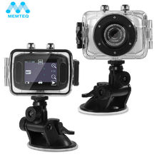 MEMTEQ Action Camera 2.0″ 720P Full HD 10M Action Camera Go Waterproof Pro Sport DV With Full Accessories Kits
