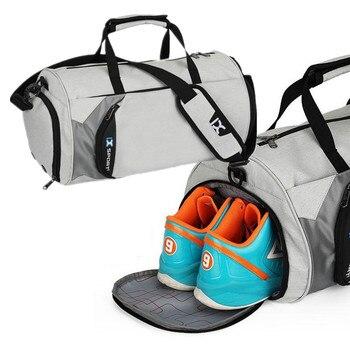 0340bf7ced3 Impermeable bolso independiente zapatos bolsillo multifuncional Trekking  bolso Durable arnés de hombro bolsas de viaje