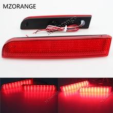 Бампер отражатель светодиодный хвост Тормозная Стоп для Mitsubishi Lancer 2008 2009 2010 2011 2013 2012 2014 Evo X Outlander красный объектив