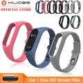 Mi jobs pulsera de silicona Aurora para Xiaomi mi Band 2 Correa reloj inteligente accesorios de repuesto mi band 2 muñeca correa