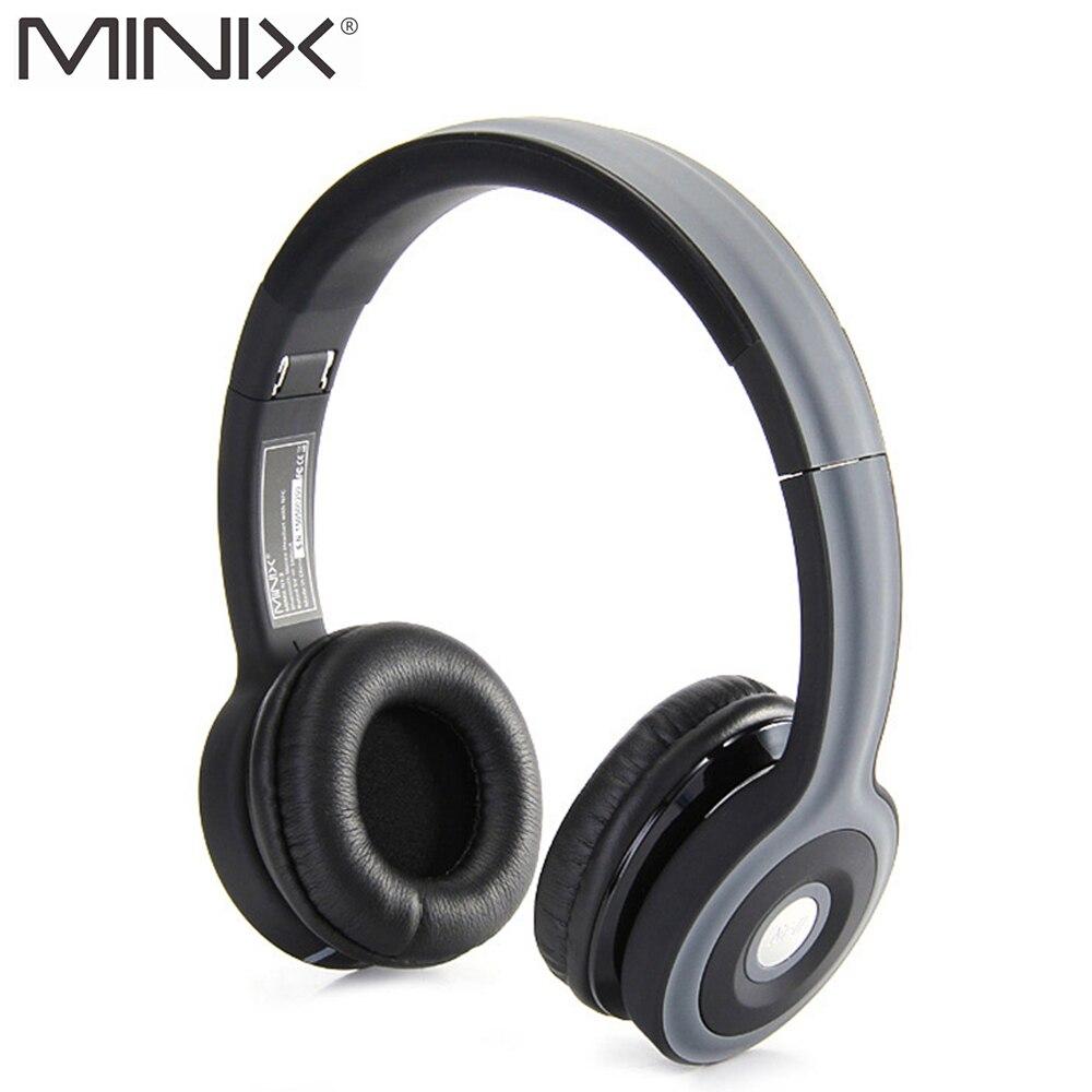 Minix nt-ii nfc inalámbrica bluetooth estéreo para auriculares plegable auricula