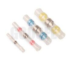 5/10pcs SST-S11 SST-S21 SST-S31 SST-S41 Heat Shrink Butt Wire Connectors Waterproof Tinned Copper Solder Seal Terminals Kit Set