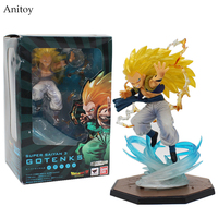 Anime Dragon Ball Figuarts Zero Super Saiyan 3 Gotenks PVC Action Figure Collectible Model Toy 16cm
