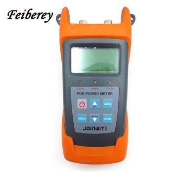 FTTx PONS sistema JW3213 PON medidor de potencia óptica para voz señal de vídeo de datos de medición simultánea en BPON EPON GPON
