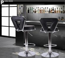 black color bar stools wine cabinet chairs free shipping Shiduo shop seat chair family Pet shop stools