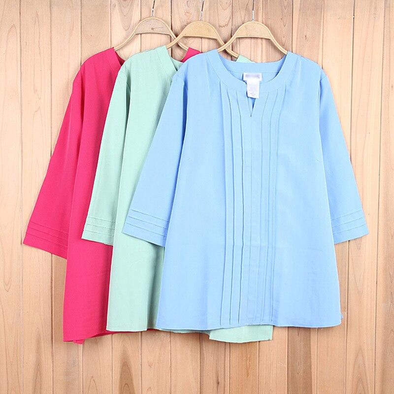 Envío gratis azul verde más mujeres del tamaño de la gasa de la ropa grandes blu