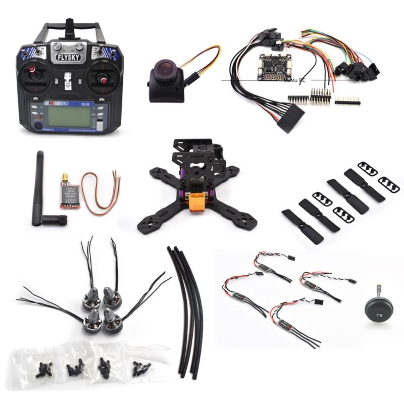 RX130 130mm Carbon Fiber F3 Flight Controller LittleBee 20A Pro TS5828 Matek XT60 Frame Kit For RC Quadcopter