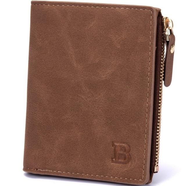 Men's Wallet   Zipper Coin Pocket