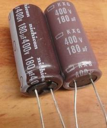 Electrolytic Capacitor 400V 180UF Capacitor