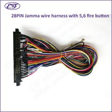 Free shipping universal standard 28pin Jamma Wire Harness for jamma Arcade Game board Accessories with 5_220x220 compare prices on arcade board games online shopping buy low wire harness board accessories at gsmx.co