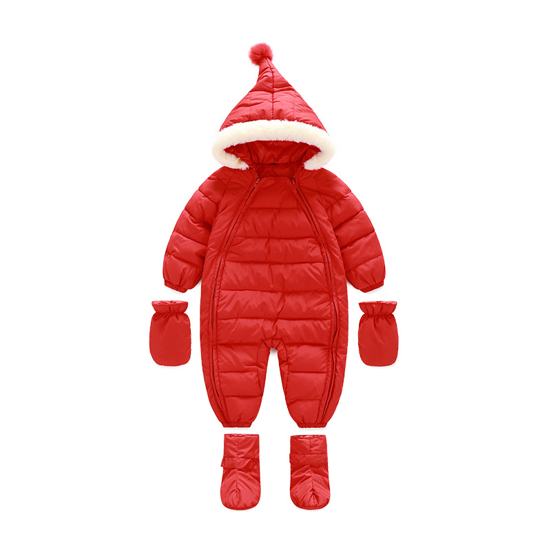 4dc543c73c8 Best buy Kids Jackets for Girls Thick Warm Christmas Coats Newborn Snowsuit Baby  Infant Winter Jacket Coat Russian Outerwear Clothes G164 online cheap