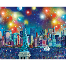 New York City Landscape diamond Embroidery diy painting mosaic diamant 3d cross stitch pictures H483