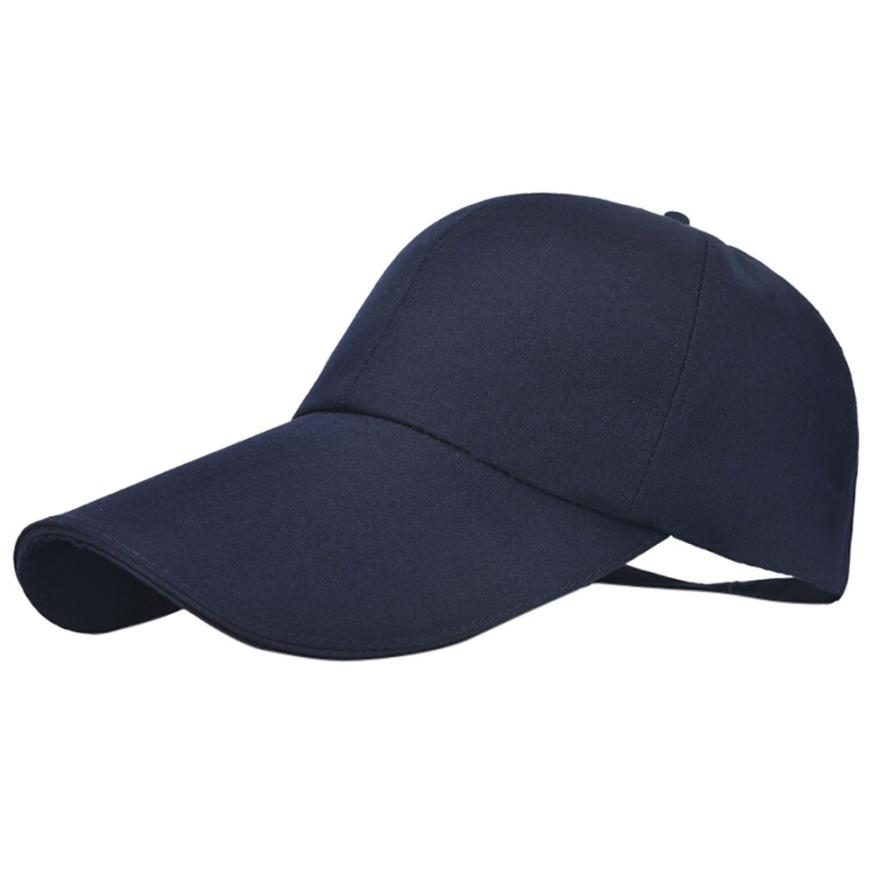 #5 Fashion Women Adjustable Baseball Fashion Hat Solid Hip-Hop Cap Shade