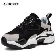 AURONET Brand Teenager Women Dad Shoes New 2019 Walking Plat