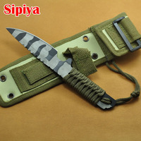 Hot Sale High Quality Ourdoor Knife Fixed Blade With Sheath Camping Hunting Knife Survival Knives