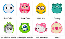 Cute Minions Owl Monster Anime Silicone Coffee Placemat Cartoon Drink Coaster Cup Glass Beverage Holder Pad Mat MF76