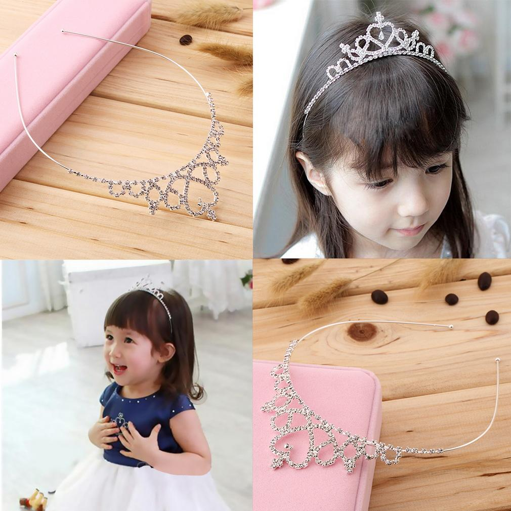 HTB1mrQ7PFXXXXc1XpXXq6xXFXXXU Charming Kid Size Flower Girl Baby Princess Crown Headband With Austrian Crystals