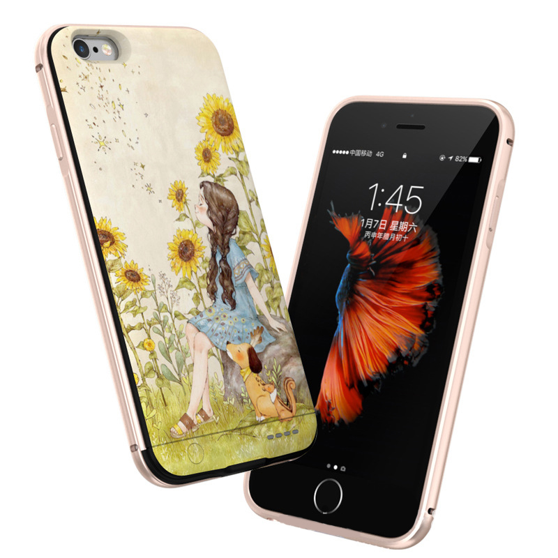 For iPhone 6 6S 7 Plus Power Bank Case Battery Charger