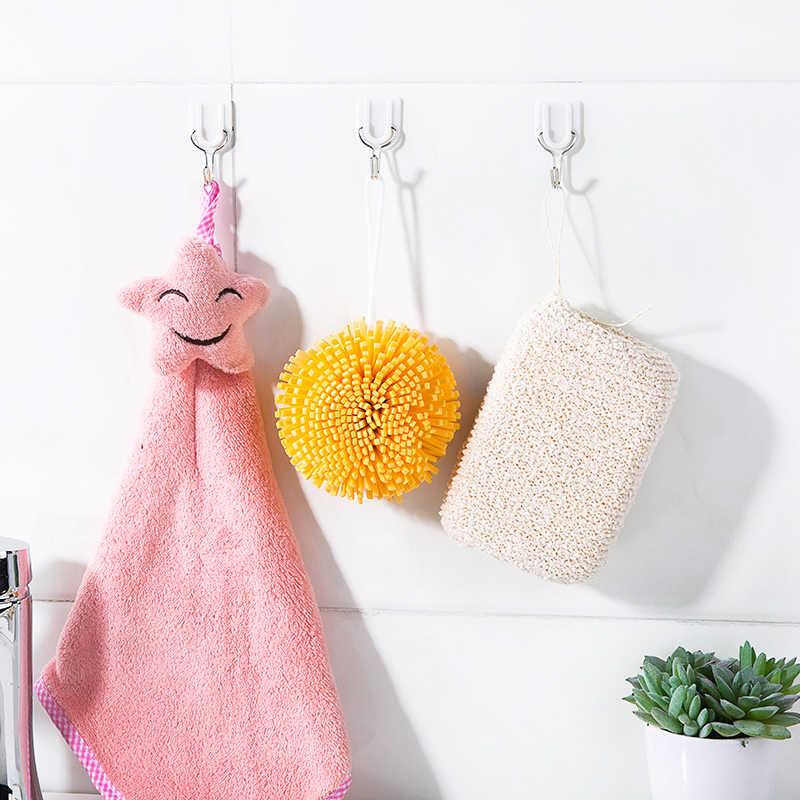 6 sztuk hak silne przyssawki Sucker do montażu na ścianie haki wieszak ścienny samoprzylepne wieszak na ręczniki wieszak na torebki hak wiszące łazienka