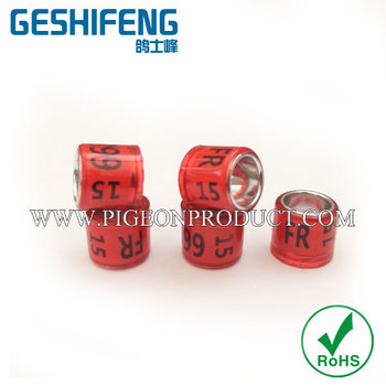 free shipping GSF 500pc custom pigeon racing bands for pigeon club