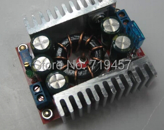 DC-DC 15A synchronous rectifier high-power adjustable step-down efficient vehicle industry LED regulated power supply module