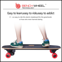 Hot sale Benchwheel high quality  adultor cheap hoverboard  controlled dual-motor  drive 1800*2w electric skateboard