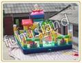 Большие развлечений парк игры надувные аттракционы надувные китай цены