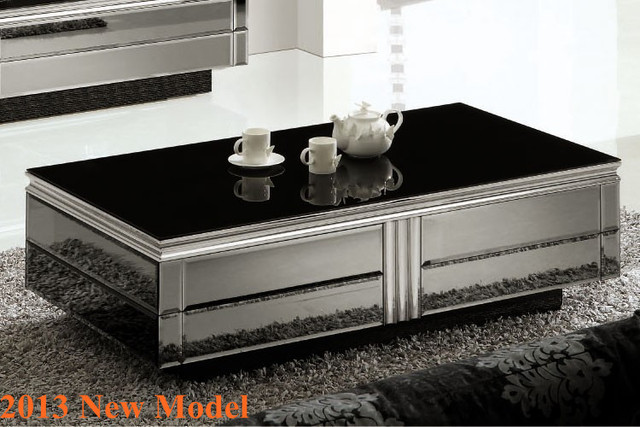 2013 New Model Glass Coffee Table Living Center Table Modern Coffee