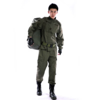 Men S Clothing CS Outdoor Casual Clothing Hiking Field Service Work Wear Set Army Wild