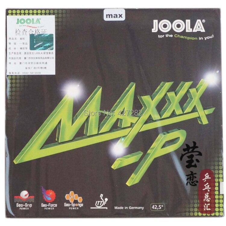 Original Joola MAXXX-P table tennis rubber table tennis rackets racquet sports internal energy joola rubber