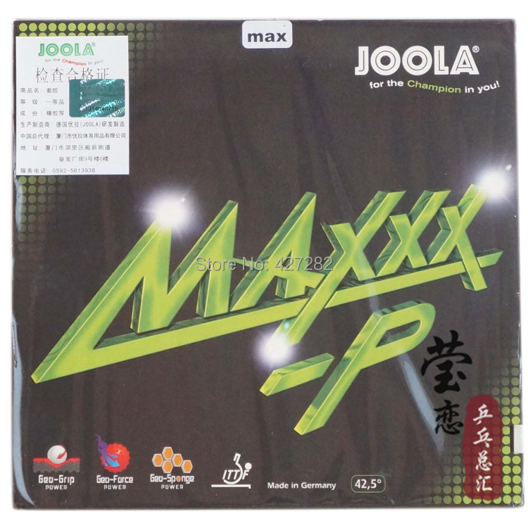 Table Tennis Provided Original Joola Maxxx-p Table Tennis Rubber Table Tennis Rackets Racquet Sports Internal Energy Joola Rubber To Reduce Body Weight And Prolong Life Racquet Sports