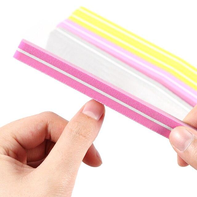Gelfavor nouveautés 1 pièces limes dart des ongles ensemble de ponçage mince tampons à ongles outils de Gel de vernis manucure limes à ongles outils à ongles