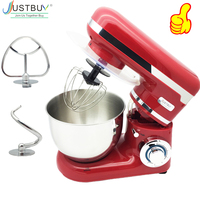220V/1200W Electric Dough Mixer Professional Eggs Blender 4L Kitchen Stand Food Mixer Milkshake/Cake Mixer Kneading Machine