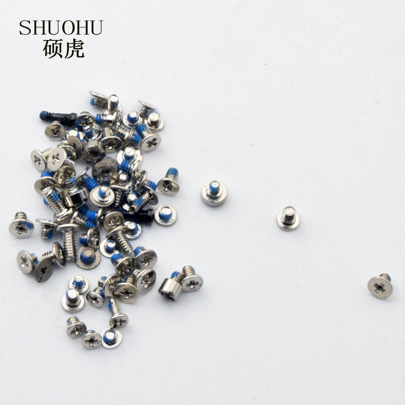 bilder für 10pcs /lot shuohu brand Full Screws Set Kit Repair Replacement Parts for iPhone 7 7plus