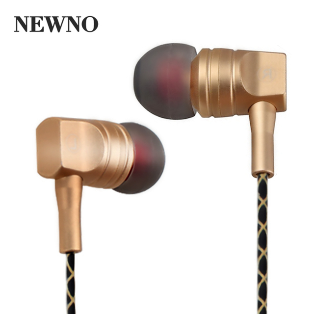 Glamshine Stereo Earphone Headphone with microphone Super Bass Gaming Headset Metal Music Earpiece Earbuds for Phone