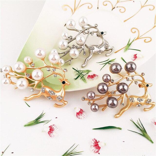 6 шт./лот Рождество кольцо для салфетки в форме оленя кольца серебро/золото кольцо для салфеток пряжки салфетки Пряжка отель Свадебная вечеринка украшения для стола