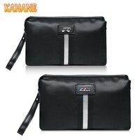 KAHANE Cattle Leather Men Handbag Men Clutch Bag Car Driver License Bag Credit Card Wallet For BMW M E34 E39 F10 VW Golf Polo T5